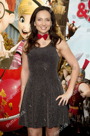 Mr Peabody and Sherman Uk Gala Screening at the Vue Cinema Leicester Square London Leila Birch