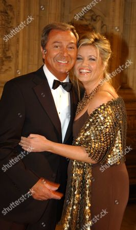 Des O'connor with His Fiancee Jodie Brooke Wilson