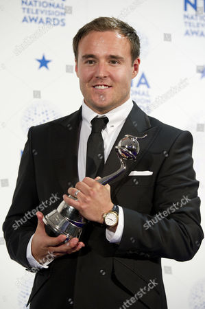 National Television Awards - Press Room at the 02 Alan Halsall Wearing the Watch of William Tarmey- Winner of Best Serial Drama Performance