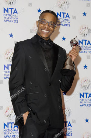 National Television Awards Press Room at the O2 Khali Best - Winner of Best Newcomer 'Eastenders'