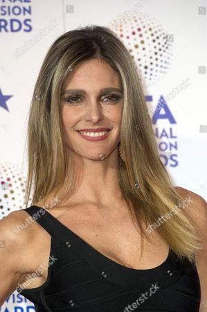 National Television Awards Press Room at the O2 Fernanda Lima