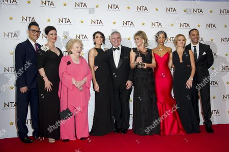 National Television Awards Press Room at the 02 This Morning - Winner of Best Daytime Programme Gok Wan Sharon Marshall Denise Robertson Christine Bleakley Eamonn Holmes with His Wife Ruth Langsford Rochelle Humes Amanda Holden and Marvin Humes