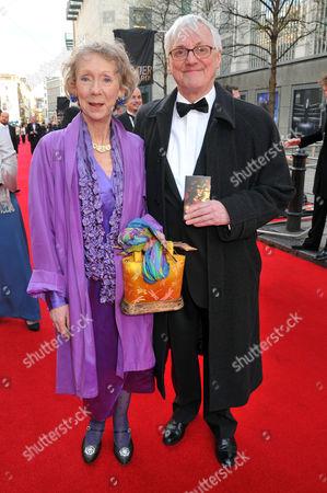Olivier Awards 2012 Arrivals at the Royal Opera House Marcia Warren and John David