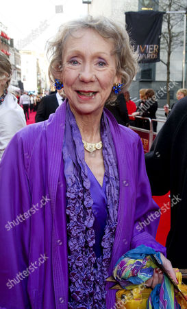 Olivier Awards 2012 Arrivals at the Royal Opera House Marcia Warren