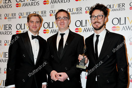Editorial picture of Olivier Awards 2012 Press Room - 15 Apr 2012