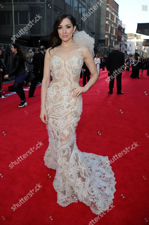Olivier Awards Arrivals 2014 at the Royal Opera House Zrinka Cvitesic