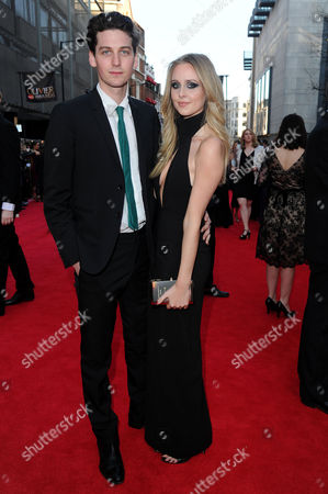 Olivier Awards Arrivals 2014 at the Royal Opera House Diana Vickers with Her Boyfriend George Craig