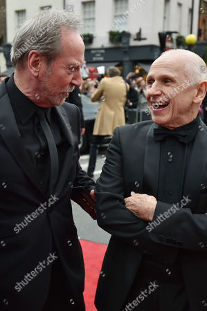Olivier Theatre Awards at the Royal Opera House - Special Access Red Carpet Pre-show Reception and Auditorium Bill Paterson and Wayne Sleep