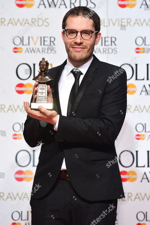2016 Olivier Awards at the Royal Opera House - Press Room Robert Icke (best Director 'Oresteia')