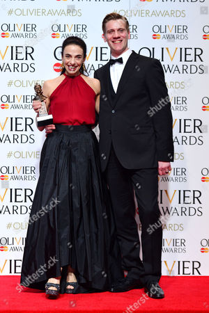 Stock Photo of 2016 Olivier Awards at the Royal Opera House - Press Room Alessandra Ferri (outstanding Achievement in Dance in Cheri and Woolf Works) Presented by Adam Cooper