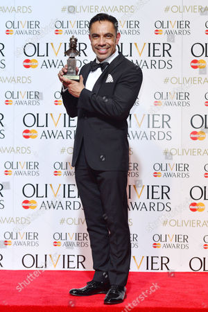 2016 Olivier Awards at the Royal Opera House - Press Room David Bedella (best Actor in A Supporting Role in A Musical For 'In the Heights')