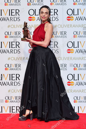 2016 Olivier Awards at the Royal Opera House - Press Room Alessandra Ferri (outstanding Achievement in Dance in Cheri and Woolf Works)