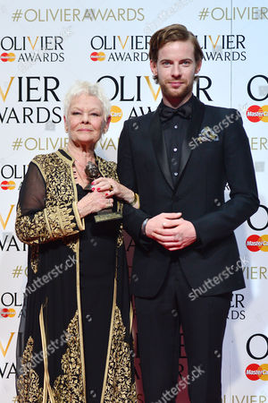 Stock Picture of 2016 Olivier Awards at the Royal Opera House - Press Room Dame Judi Dench (best Actress in A Supporting Role 'The Winter's Tale') Presented by Luke Treadway