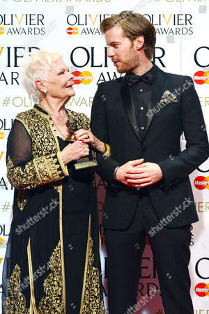2016 Olivier Awards at the Royal Opera House - Press Room Dame Judi Dench (best Actress in A Supporting Role 'The Winter's Tale') Presented by Luke Treadway