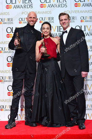 2016 Olivier Awards at the Royal Opera House - Press Room Wayne Mcgregor (best New Dance Production 'Woolf Works by Wayne Mcgregor') and Alessandra Ferri (outstanding Achievement in Dance in Cheri and Woolf Works) Presented by Adam Cooper