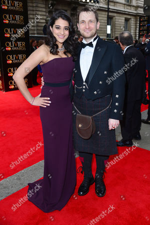 Olivier Awards Red Carpet Arrivals at the Royal Opera House Natalie Dew