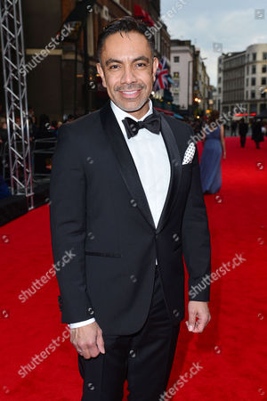 Olivier Awards Red Carpet Arrivals at the Royal Opera House David Bedella
