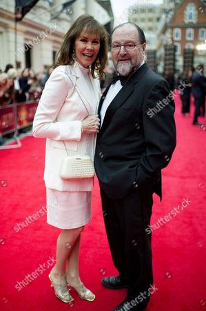 Editorial image of Olivier Awards Red Carpet Arrivals - 28 Apr 2013
