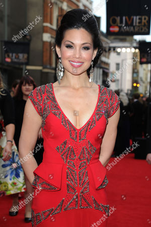 Laurence Olivier Theatre Awards 2015 Arrivals at the Royal Opera House Natalie Mendoza