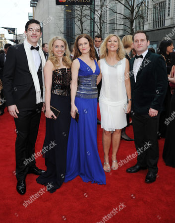 Laurence Olivier Theatre Awards 2015 Arrivals at the Royal Opera House Ian Mcintosh Lorna Want Katie Brayben Glynis Barber and Gary Trainor (beautiful Cast)
