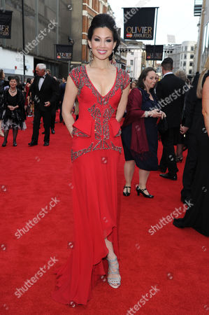 Editorial picture of Olivier Theatre Awards 2015 Arrivals - 12 Apr 2015