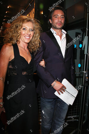 Ozwald Boateng Celebrates 25 Years of His Menswear Label During London Fashion Week at the Odeon Leicester Square Kelly Hoppen with Her Partner Adam Meiklejohn