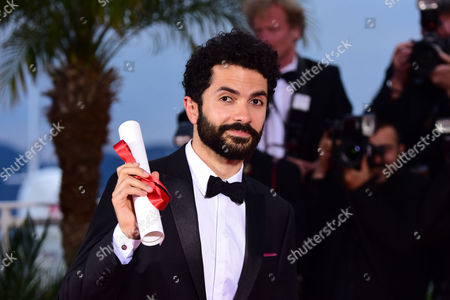 Palme D'or Winners Photocall at the Palais Des Festivals During the 68th Cannes Film Festival Ely Dagher - Winner of the Palme D'or For Short Film 'Wave '98'