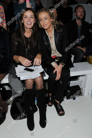 Pam Hogg Ss2012 Collection Fashion Show Front Row at Vauxhall Fashion Scout Freemasons Hall Alexandra Spencer Churchill