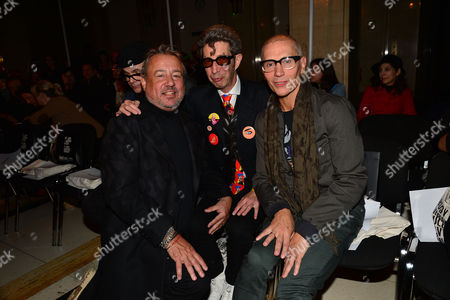 Pam Hogg Front Row Fashion Show During London Fashion Week Ss16 at Vauxhall Fashion Scout Hamish Mcalpine (l)