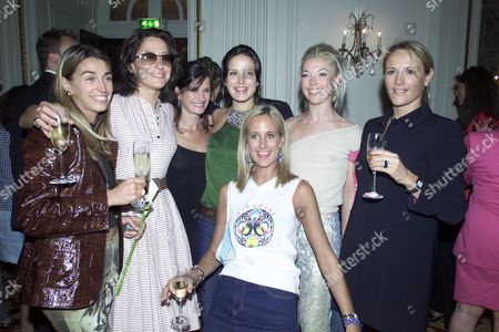 Including - Miranda Davis Sophie Anderton and Tamara Beckwith (who Hosted the Party)