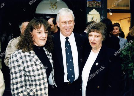 Terry Major-ball with His Wife and Daughter