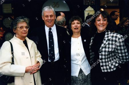 Stock Photo of Pat Dessoy Terry Major-ball with His Wife and Daughter