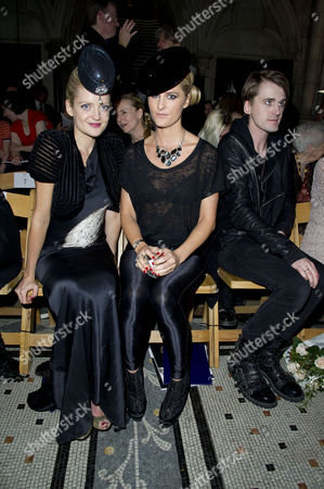 Philip Treacy Ss2012 Front Row at the Royal Courts of Justice Lady Eloise Anson