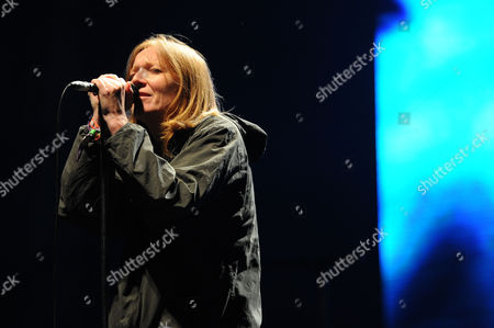 Glastonbury Festival of Contemporary Performing Arts - Saturday View From the Other Stage During Portishead Beth Gibbons