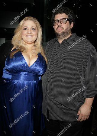 Press Night Afterparty For 'Fat Pig' at the Kingly Club Katie Kerr with the Director Neil Labute