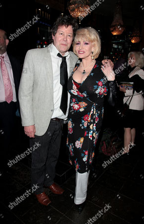Press Night For 'All the Fun of the Fair' at the Garrick Theatre and Afterparty at Jewel Covent Garden Mark Perry and Faith Brown
