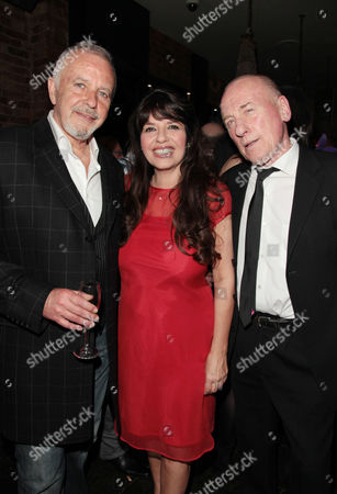 Press Night For 'All the Fun of the Fair' at the Garrick Theatre and Afterparty at Jewel Covent Garden David Essex Christopher Timothy and Louise English