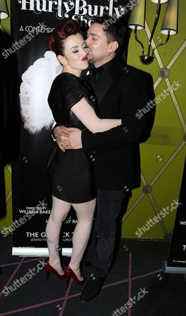 Press Night For 'The Hulry Burly Show' at the Pigalle Club Piccadilly Miss Polly Rae and William Baker