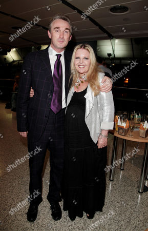 Press Night For 'The Railway Children' at the Old Eurostar Platform Waterloo Station Sally Thomsett (phyllis From the 1970's Film) with the Stage Director Damian Cruden