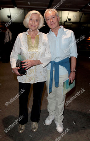 Press Night For 'The Railway Children' at the Old Eurostar Platform Waterloo Station Honor Blackman and Nickolas Grace