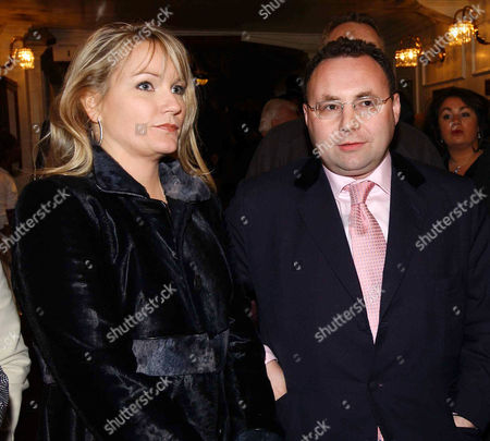 Press Night For 'Thoroughly Modern Millie' at the Shaftesbury Theatre and Afterparty at the Waldorf Hilton Hotel Georgea Blakey and Jonathan Shalit