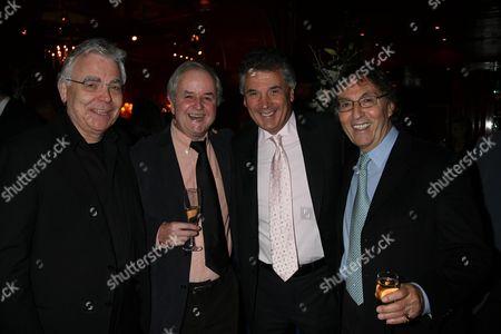 Press Night For Absurd Person Singular After Party at Les Ambassadeurs Bill Kenwright Rodney Bewes David Dein & Don Black