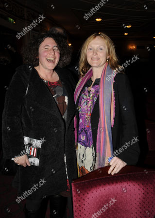 Press Night of 'The God of Carnage' at the Gielgud Theatre Shaftsbury Aveune Francesca Simon and Miranda Richardson