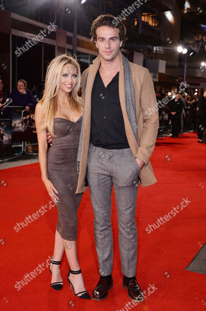 Pride + Prejudice + Zombies Premiere at the Odeon Leicester Square Hannah Elizabeth and Max Morley