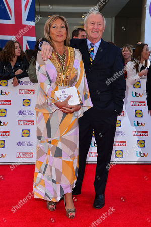 Pride of Britain Awards at the Grosvenor House Hotel Chris Tarrant with His Partner Jane Bird