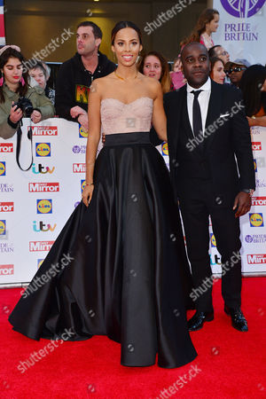 Pride of Britain Awards at the Grosvenor House Hotel Rochelle Humes and Melvin Odoom