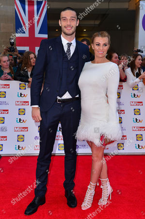 Pride of Britain Awards at the Grosvenor House Hotel Billi Mucklow and Andy Carroll