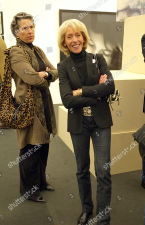 Private View at the Frieze Art Fair in Regents Park the Duchess of Marlborough