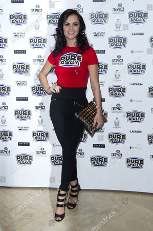 Pure Rally Photocall at the Millennium Hotel Grosvenor Square Emma Glover