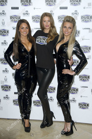 Stock Photo of Pure Rally Photocall at the Millennium Hotel Grosvenor Square Danica Thrall